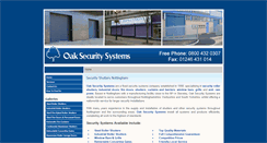 Preview of oaksecuritysystems.co.uk